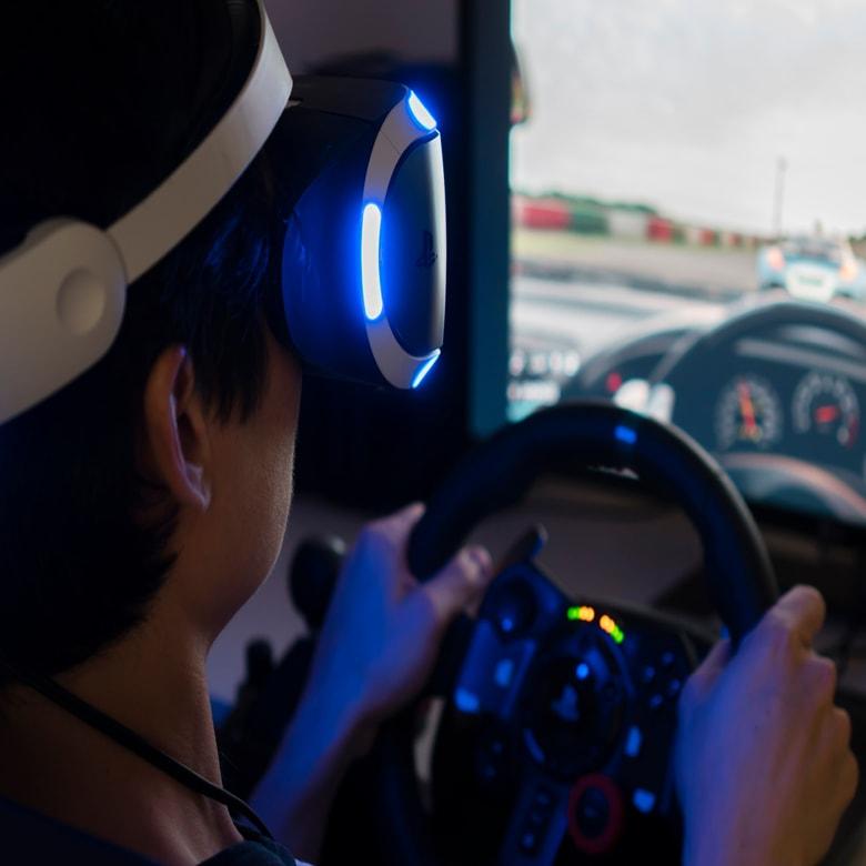 Гоночный VR-симулятор