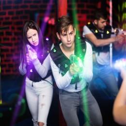 Лазертаг с друзьями