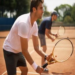 Мастер-класс большого тенниса для двоих