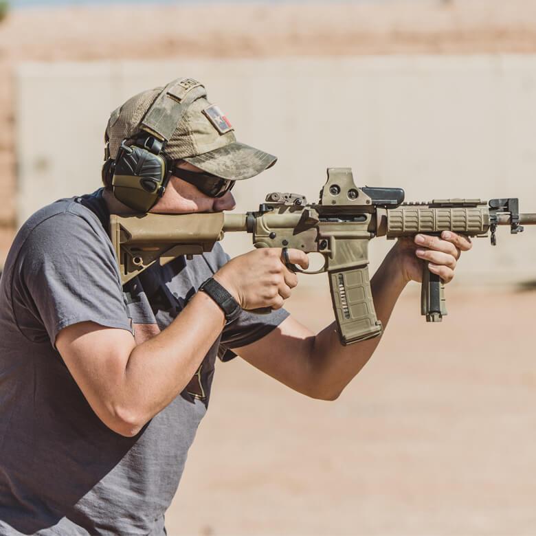 Мастер-класс стрельбы из автомата