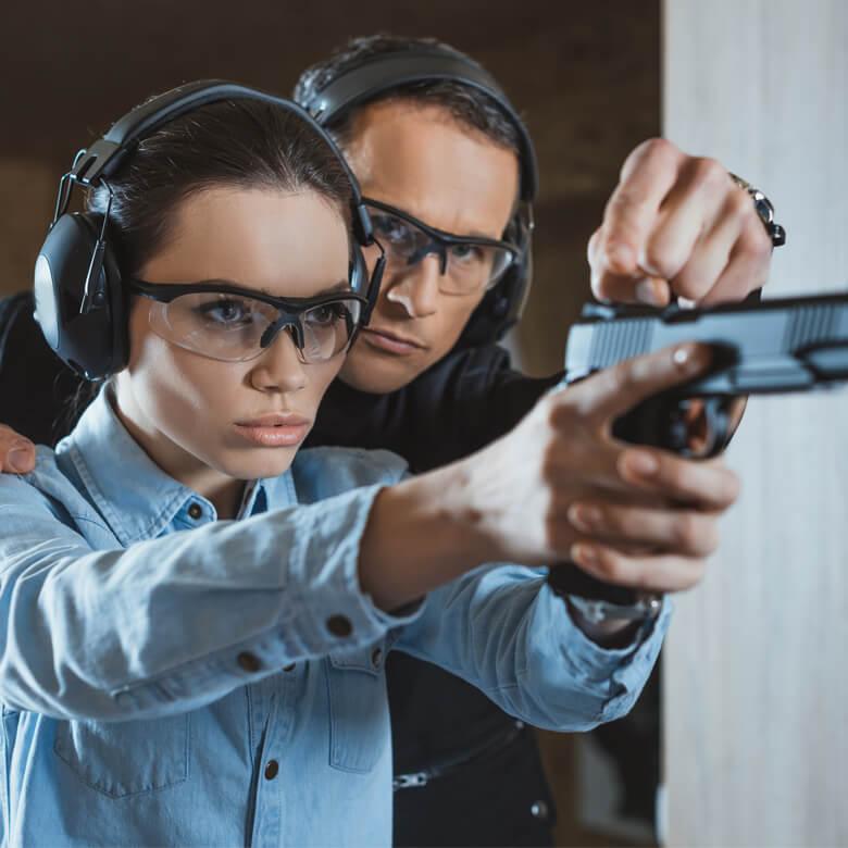 Мастер-класс стрельбы из пистолета