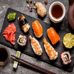 Мастер-класс суши для компании