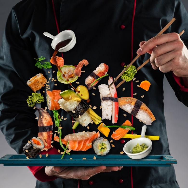 Мастер-класс японской кухни