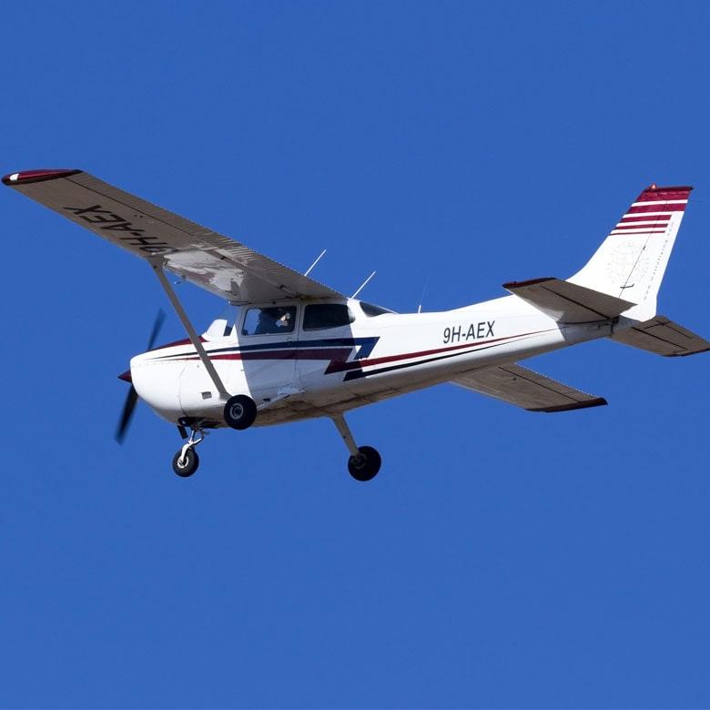 Ознакомительный полет на самолете Cessna 172