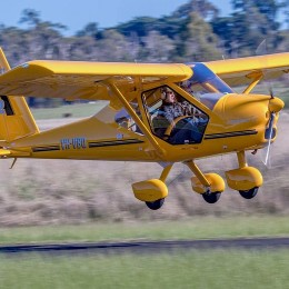 Пилотирование легкого самолета 30 минут