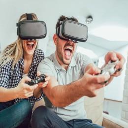 Playstation в VR-очках