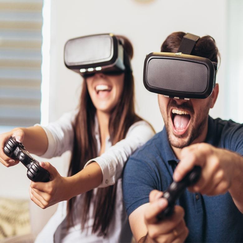 Погружение в мир VR-игр для двоих