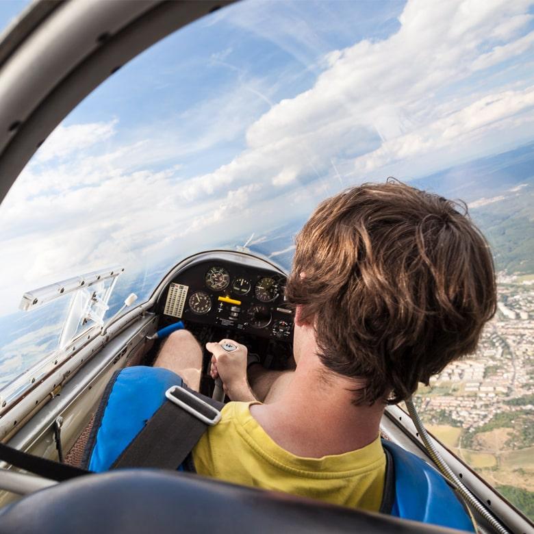 Полет на легком самолете Cessna 150