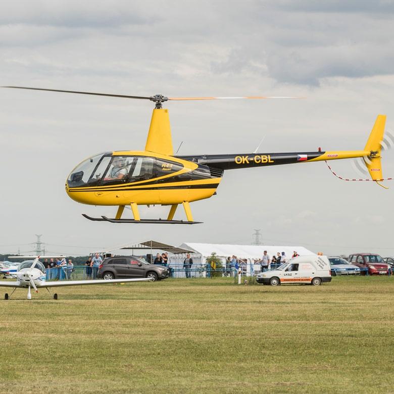 Обзорный полет на вертолете Robinson над Киевом