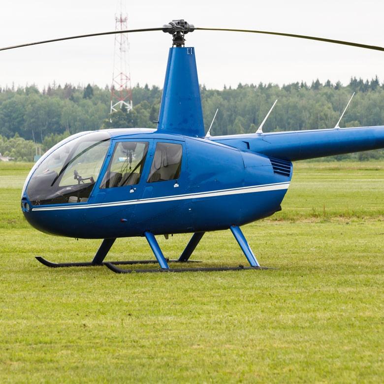 Полет на вертолете Robinson R44 в Межигорье