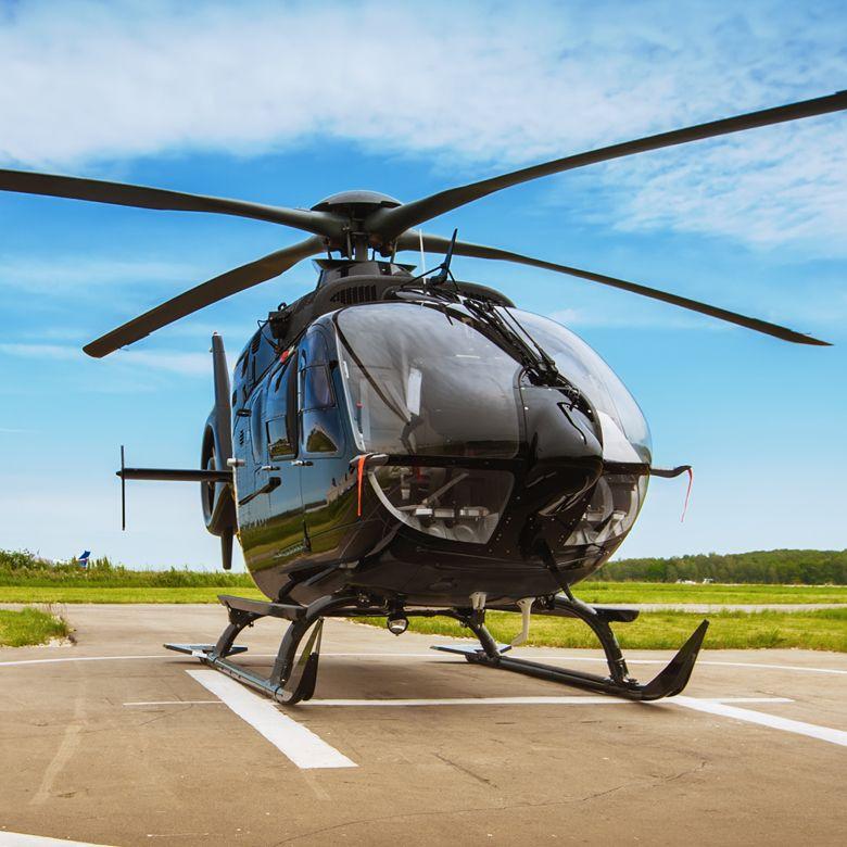Полет на вертолете Eurocopter 120 для компании