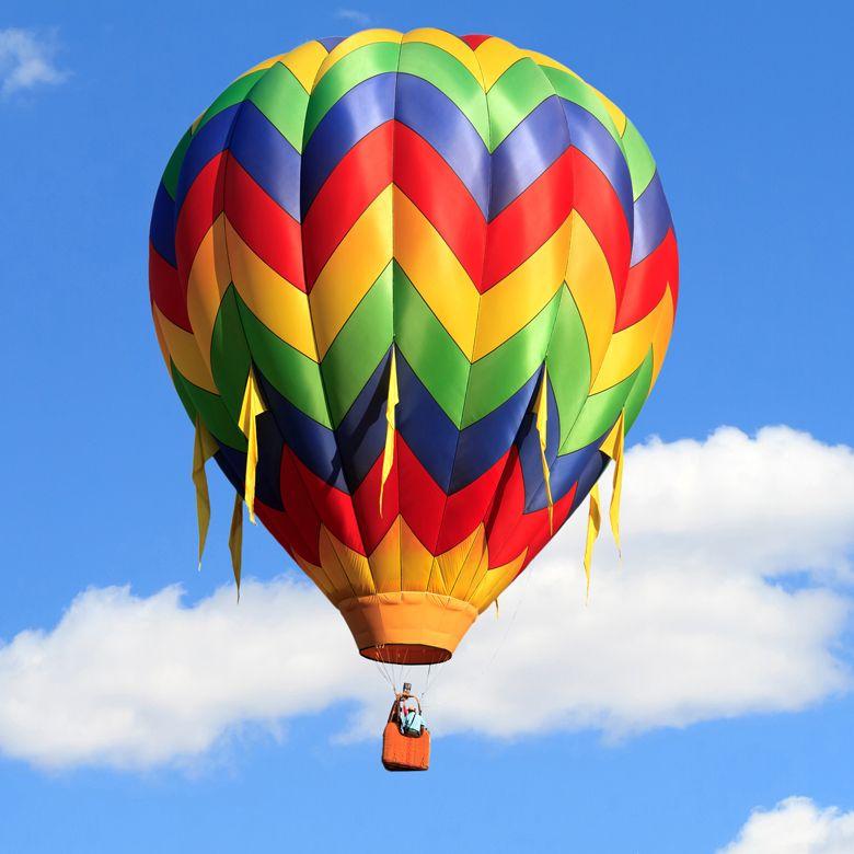 Воздушный шар для четверых