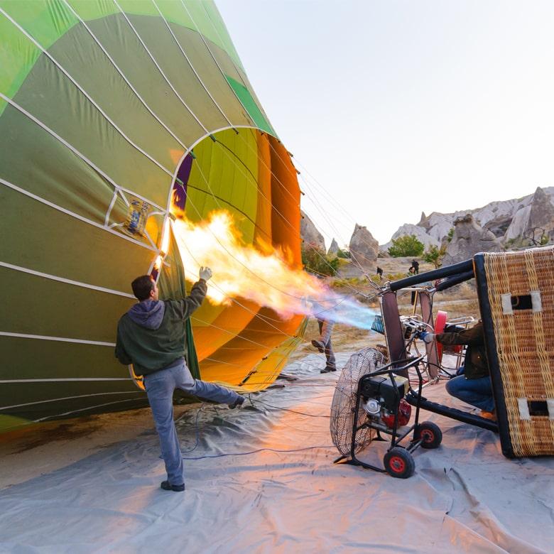 Полет на воздушном шар в группе