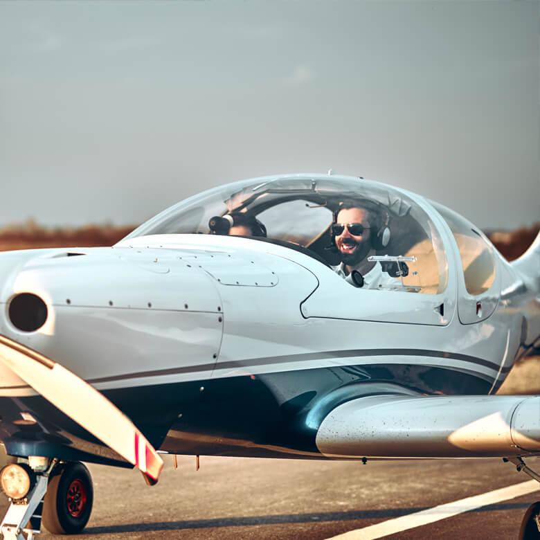 Полет на самолете LA-50 Patriot 30-минут
