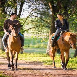 Прогулка на лошадях для двоих - Long