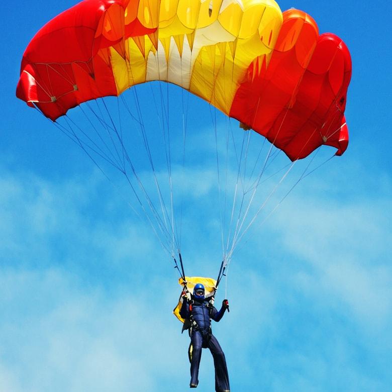 Прыжок с парашютом Static Line