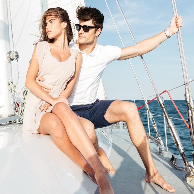 Двухчасовая прогулка на яхте