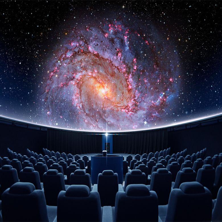 Сферический кинотеатр на двоих