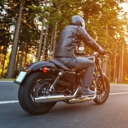 Урок езды на Harley-Davidson