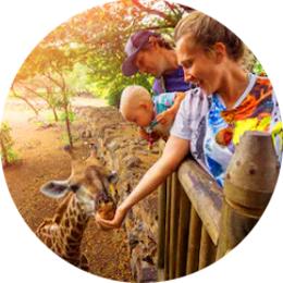 Зоопарк «12 месяцев» для двоих